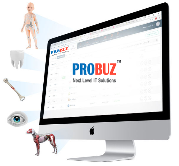 Probuz Customizable Clinic Management Software